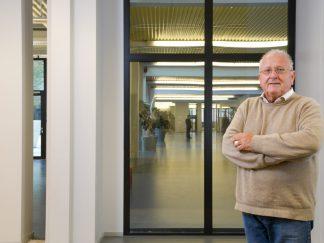 M. Pierre Keller, ancien directeur de l'ECAL, membre